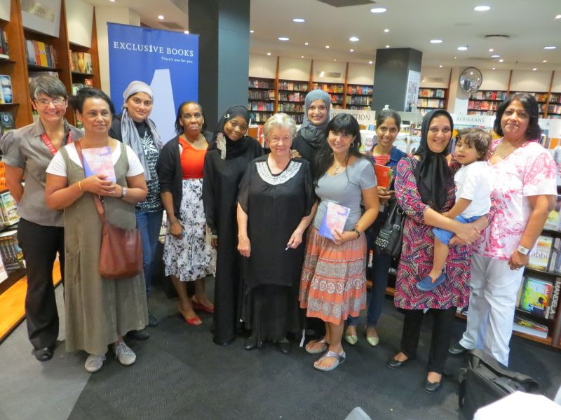 At the launch of Mind for Change at Exclusive Books.
